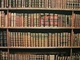 """""""Mini X Tissu 100% coton-multi utilisation rideau Stores matelassage-Vintage Bibliothèque Livres-Vendu au Mètre"""