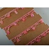 Neotrims Ruban main crochet Viscose paillettes franges frontière de décoration par la cour de Prix ou une bonne affaire 25-30m ...
