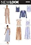 New Look NL6558 Patron de Couture Ensemble Haut + Pantalon + Jupe + Veste 22 x 15 cm