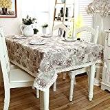 New One Day-Linge de dentelle nappes nappes haute couture - linge de table d'extrémité , 140x220cm
