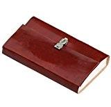 noël cadeau vente SouvNear (Journal de secrets personnels) - Brun Cuir Véritable Ethnique Poésie Journal [22,9x13,2]cm avec la Papier Fait ...