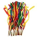 NUOLUX 12pcs Rainbow ruban danse ruban couleur ruban (multicolore)