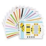 ohCome 20Pcs 3D Papier Modèles pour Enfants Adultes Jeux en Pratique de 3D Doodling Peinture Dessin,Peut être utilisé à plusieurs ...
