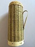 OLQMY-Artisanat de bambou naturel, rétro-thermos, bambou-bambou, 33 * 13CM