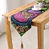OLQMY-Décoration de table,Coton de style européen et linge de table drapeaux, drapeau coffret luxe, Nordic nouveau lit classique et chiffon ...
