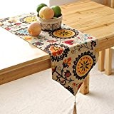 OLQMY-Décoration de table,Fashion style européen moderne simple table de thé drapeau coton et le drapeau linge de table, lit Bohème, ...