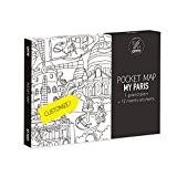 Omy Paris carte de poche, papier, Multicolore