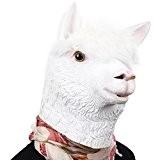 Party Storyla Alpaga masque masque en latex tête masque d'animal nouveauté fête costumée