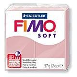 Pâte Fimo Soft 57gr Rose Tendre (n°21)