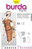 Patron de couture Burda 7175 Femme Style Vintage-Haut + jupe + chapeau & Wrap tailles :  20