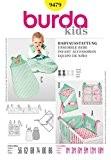 Patron de couture Burda Children's 9479-M-18 bébé Accessoires :  1 m (56-86)