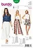 Patron de couture Burda femme facile 6771 très complet & Summer Short Pantalon