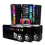 Peinture Kit de 36 Feutres de Coloriage Aquarelle Pointe Ogive Souple Crayons de Couleurs Stylos de Marqueurs Artiste Dessin Coloris ...
