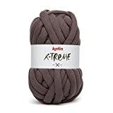 Pelote de Fil XXL Katia X-TREME pour tricot et corchet. Réaliser votre déco mode et tendance (Fauve)