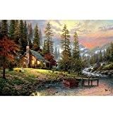 Ruimi DIY Diamant 5d Broderie kit de peinture Paysage de campagne Motif Collez-le au point de croix Home Decor 55,9x ...