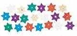 Sequins Étoiles Assortiment 8 mm 500 pièces - Rayher