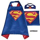 Superhero Cape avec masque pour enfant-Party Costume