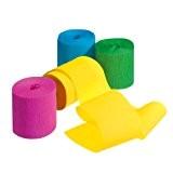 Susy Card 11144730 Lot de 9 rouleaux de papier crépon Party Picknick (Import Allemagne)
