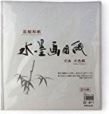 Tierra Zen R151 Sumi-e Papier Washi pour Dessin à l'Encre Blanc 25 x 28 x 0,5 cm