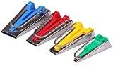 Topways® 4 Tailles Appareil A Biais Fusible Pour Fabriquer Largeur Fabric Bias Tape Maker 6mm 12mm 18mm 25mm Ruban