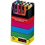 Uniball Uni Posca 15 marqueurs peinture