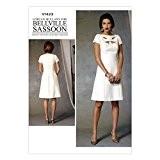 Vogue Patterns 1423 A5 Tailles 6/8/10/12/14 Patrons de robes pour femme Multicolore