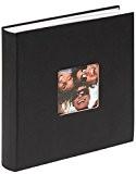 Walther, Fun, Album De Photos, FA-208-B, 30x30 cm, 100 Pages Blanches, Noir