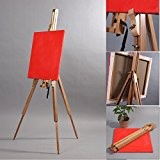XTRADEFACTORY Chevalet en bois de hêtre pour toile sur châssis