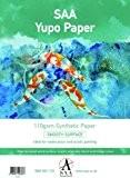 Yupo peinture de 25 feuilles de Papier de 110 g/m² Format A3 420 x 290 mm