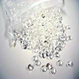 5000 petits cristaux en forme de diamants pour les décoration de table - Haute qualité - Pour 6 à 8 ...