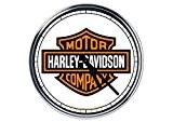 acier horloge murale Harley Davidson 3