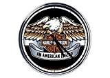 acier horloge murale Harley Davidson 4