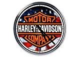 acier horloge murale Harley Davidson 6