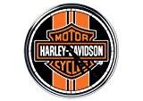 acier horloge murale Harley Davidson 8