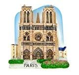 Aimants pour réfrigérateur souvenirs NOTRE DAME DE PaRIS main sculpture moderne et tableaux magnétiques 3D DE collection cadeau