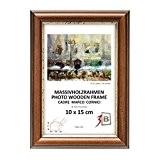 BARI RUSTIQUE - brun foncé - 21x30 cm - cadre en bois, cadre pour photo