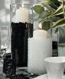 Blanc 5 paquets de 10g eau Aqua Cristal sol Bio Gel Boule Perles mariage Vase Centerpiece
