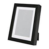 Cadre photo Ribba, noir, 18x 24cm, le support met en valeur la photo et le cadre est facile à monter