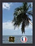 Caisse américaine pour une toile Format Figure 40 81x100 / 100 x 81 cadre Caisse Americaine Noir, 4.5 cm de ...