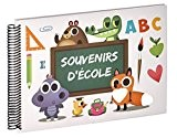 Ceanothe 721757 Album Photo ABC Souvenir d'Ecole Papier Multicolore 2,5 x 34,6 x 24,5 cm