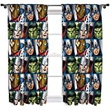 Character World Disney Marvel Avengers Rideaux Multicolore 137,5 cm