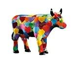 CowParade - Vache Cow parade : Petite Small Heartstanding Cow 46596