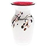 """Design Vase en verre, Deco Vase MURANO STYLE, Collection """"Pavel"""", 23 cm, fait à la main, verre soufflé (ART GLASS ..."""