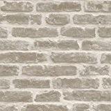 Direct Wallpaper - Papier Peint Mural Vinyle Effet Brique Rustique - J34407