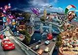 Disney Cars Panorama Papier Peint Décoration pour la Chambre D'Enfants