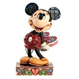 Disney Traditions 4031477 Figurine Mickey et les Baisers Résine 10 cm