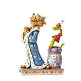 Disney Traditions 4050418 Figurine Prince John & Roi Hiss de Robin des Bois Figurine Multicolore 17 cm