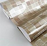 dooxoo 45?x 200?cm CUISINE PVC en papier d'aluminium self-adhensive mosa?que Stickers huile papier peint Stickers Muraux Miroir de salle de ...