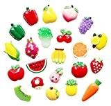 Ensemble de 22 créative aimant frigo / mignon magnets frigo, fruits