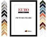 EUROLine35 cadre photo sur mesure pour des photos 80 cm x 120 cm, couleur: Noir matt, fabrication sur mesure du ...